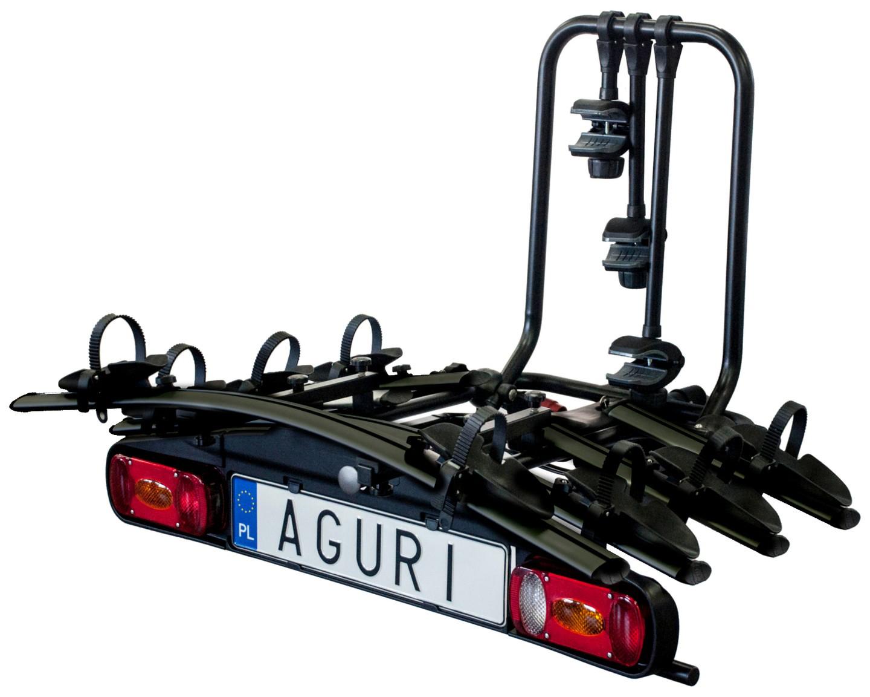 Platforma Na Hak Aguri Active Bike Bagażnik Na 4 Rowery Black
