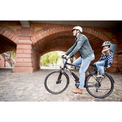 Bobike Maxi Exclusive Tour Urban Black fotelik rowerowy do ramy - model 2021